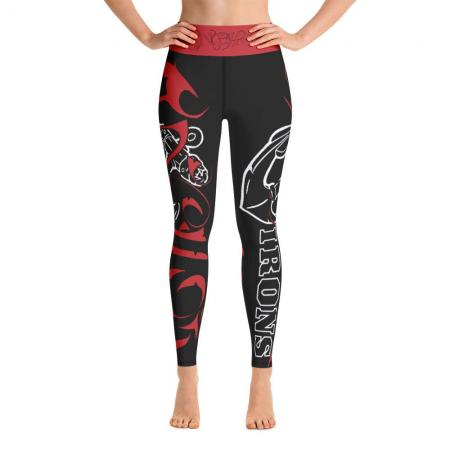 Anchor Irons Hot Yoga Leggings - BLACK