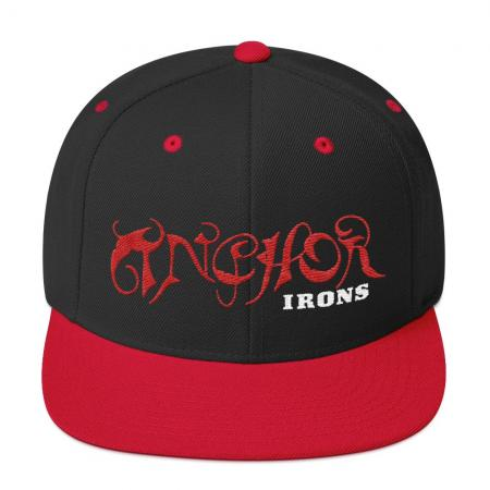 Anchor Irons Snapback Hat