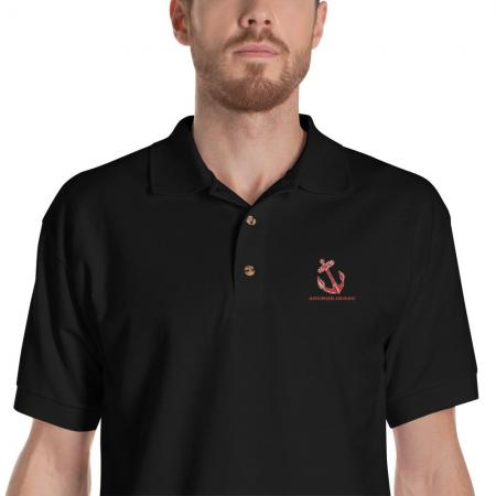 Anchor Irons Embroidered Polo Shirt